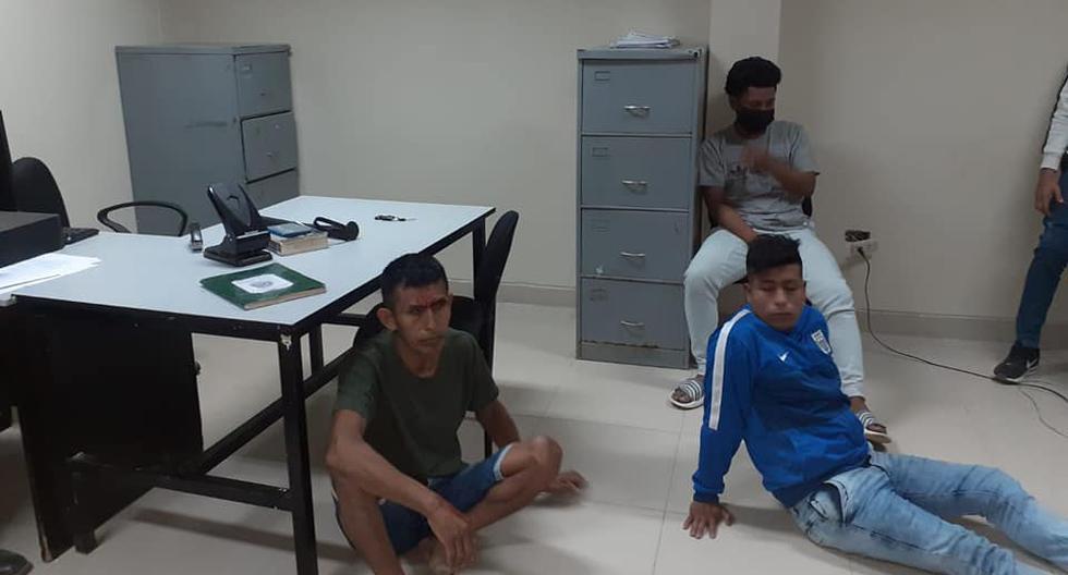 Piura: detienen a delincuentes que robaron la moto de dos jóvenes que se accidentaron en Sullana