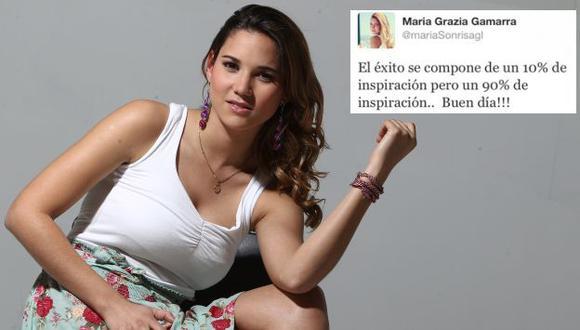 La actriz borró el comentario y se defendió de las burlas que recibió. (Erick Nazario/USI)