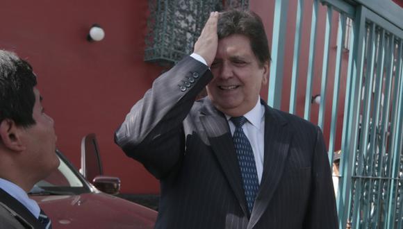EN ESPERA. Situación de Alan García podría tomar un nuevo giro. (Mario Zapata)