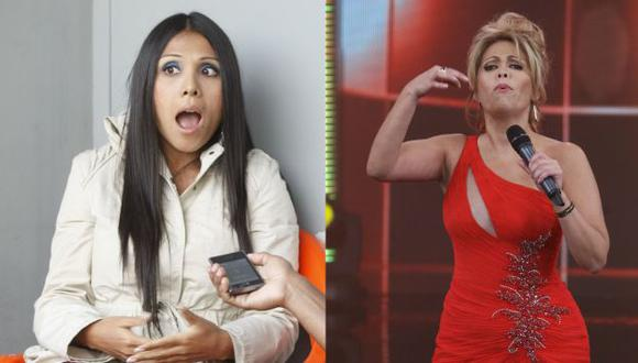 Tula Rodríguez y Gisela Valcárcel están en dimes y diretes. (Peru21)