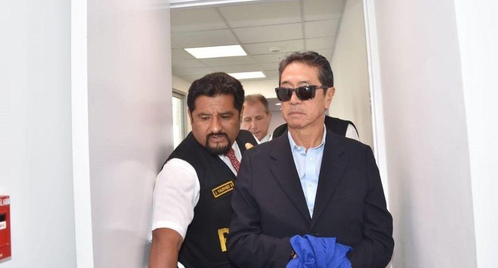 Jaime Yoshiyama cumple una orden de prisión preventiva en el marco de la investigación que se sigue por la recepción de presuntos aportes ilegales de la empresa Odebrecht. (Foto: GEC)