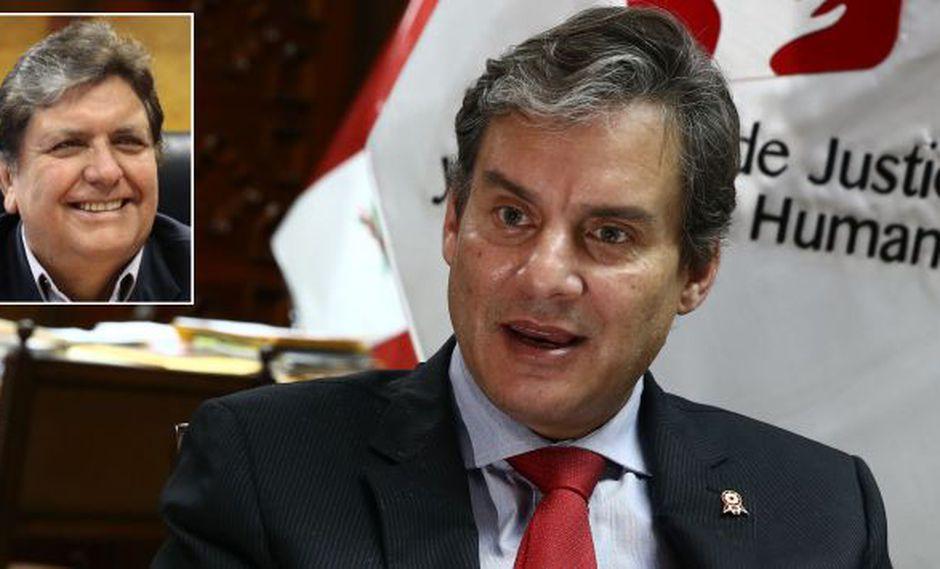 Figallo dijo que Sergio Tejada desarrolló la investigación conforme a derecho. (USI)