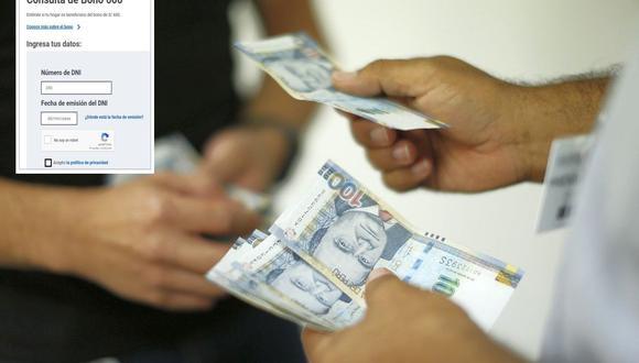Esta semana inicia el pago del segundo bono de 600 soles por la cuarentena (Foto: GEC)