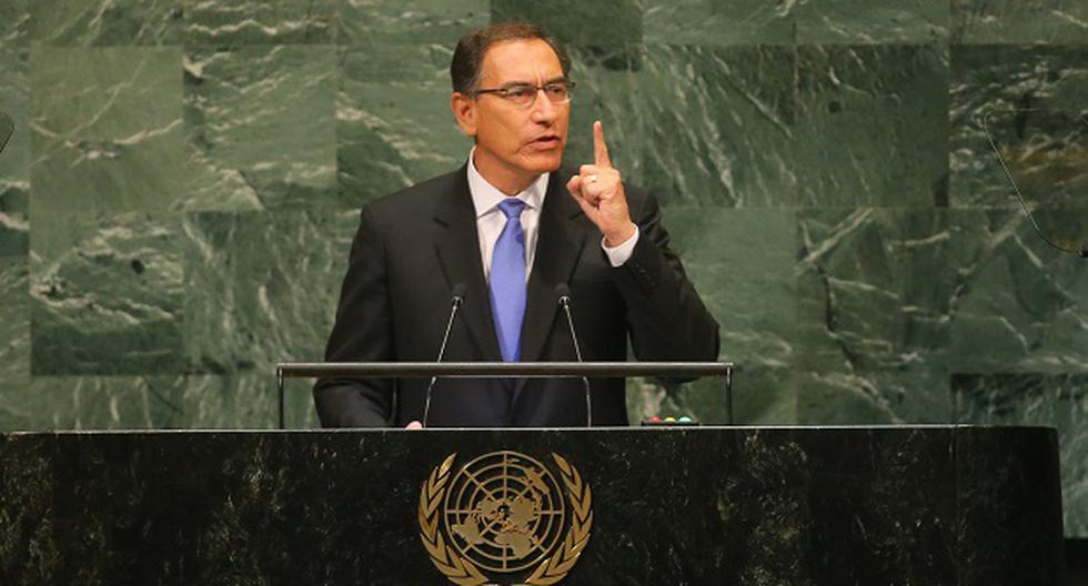 """Vizcarra en la ONU: """"Culminaré mi Gobierno y entregaré el mando a mi sucesor el 28 de julio del 2021"""""""