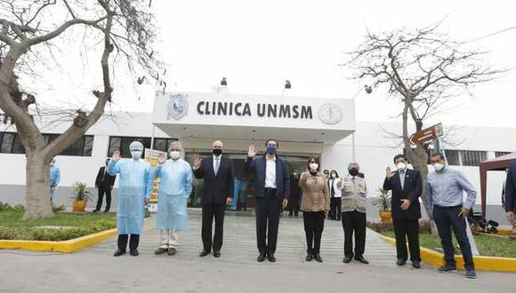 Investigador de la UNMSM, Eduardo Ticona, confirmó que recibió dosis contra el COVID-19. (Foto: Francisco Neyra/GEC)