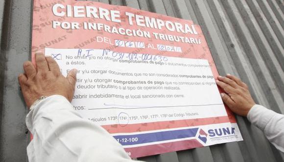 EN DEBATE. Una sola infracción será suficiente para proceder al cierre de los establecimientos. (USI)