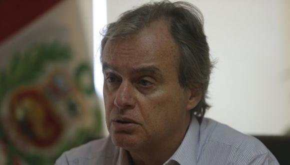 Carlos Basombrío rechaza cualquier acción irregular. (David Huamaní)
