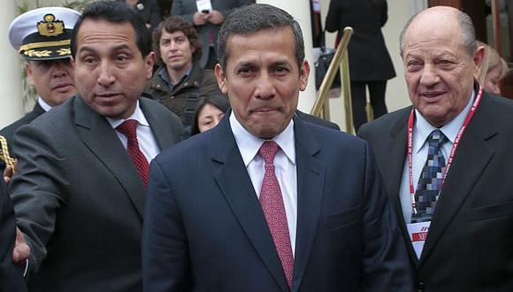 Humala hace oídos sordos a pedido de oposición. (César Fajardo)
