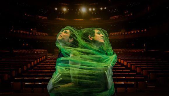 Alejandro y María Laura llegan al Gran Teatro Nacional.