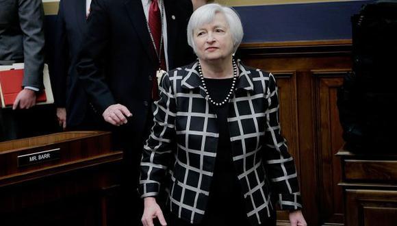 Janet Yellen defendió continuidad de política monetaria de EEUU. (AFP)