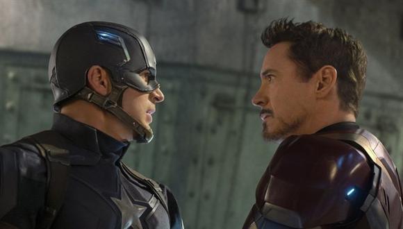 La amistad entre Chris Evans y Robert Downey Jr. supera la ficción y las siguientes imágenes lo demuestran. (Foto: Marvel Studios)