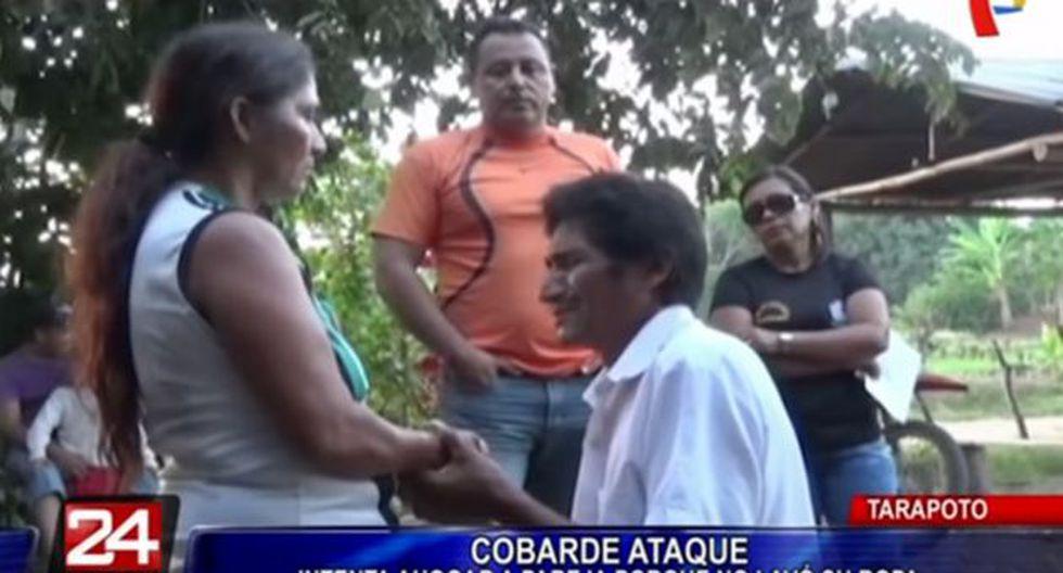Hombre fue denunciado por intento de feminicidio. (24 horas)