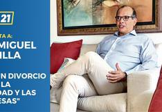 """Luis Miguel Castilla: """"Hay un divorcio entre la realidad y las promesas"""""""