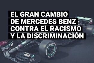 Mercedes Benz cambiará el color de sus autos de Fórmula 1 para promover la lucha contra el racismo y la discriminación