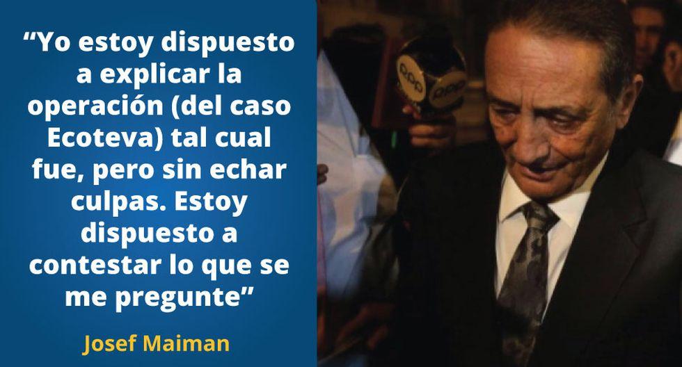 """Josef Maiman confesó que se siente """"utilizado"""" por Toledo."""