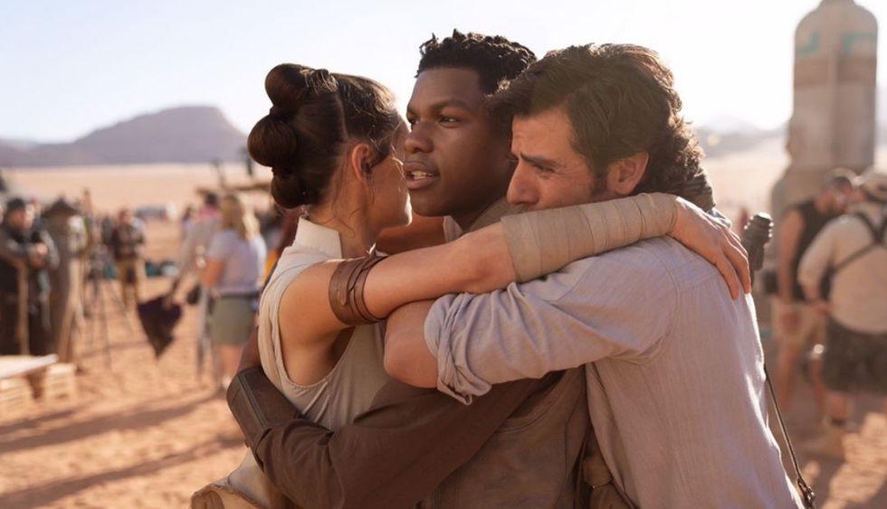"""""""Star Wars: Episodio IX"""": John Boyer anunció el fin de la grabación con emotiva fotografía (Foto: Instagram Star Wars)"""