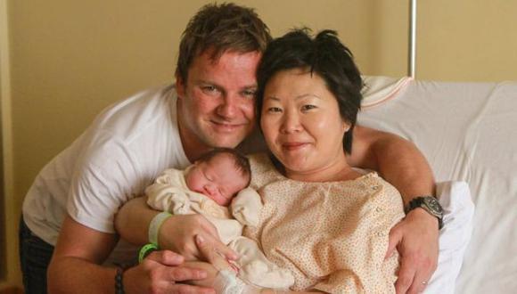 Alberto Fujimori se convirtió en abuelo por quinta vez luego que su hija Sachi se convirtiera en madre. (Difusión)