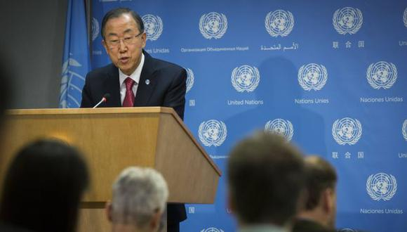 Ban Ki-moon, el anfitrión de la cita. (Reuters)