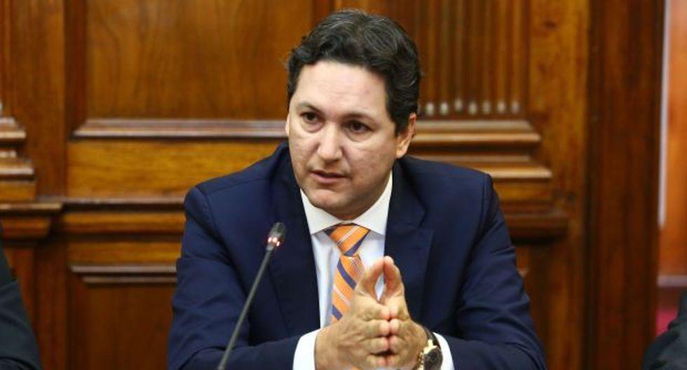 Daniel Salaverry se pronunció ante las críticas de congresistas y trabajadores. (Foto: Congreso de la República)
