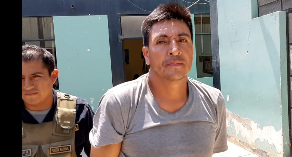 Emiliano Bardales fue detenido en el distrito de José Leonardo Ortiz.
