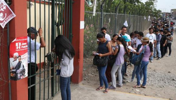 Elección de Asamblea Estatutaria en San Marcos se desarrolla con normalidad. (Andina)