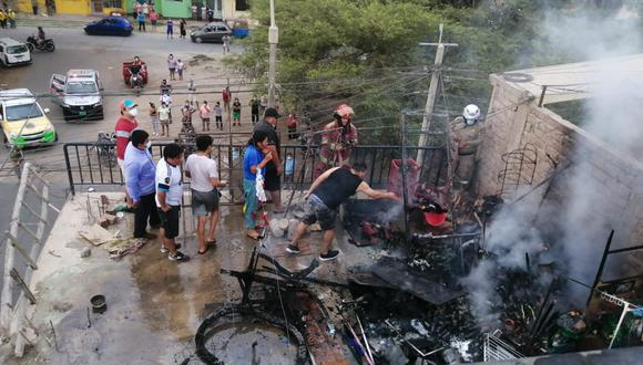 Ica: Niña de tres años muere calcinada al incendiarse su vivienda (Foto: Difusión)