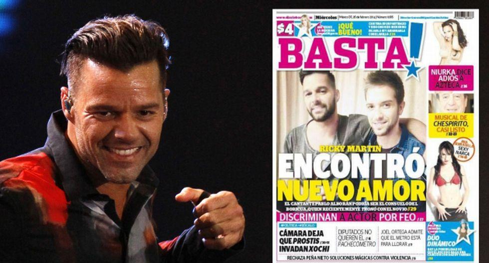 Ricky Martin tendría nueva pareja. (AP/Revista Basta!)