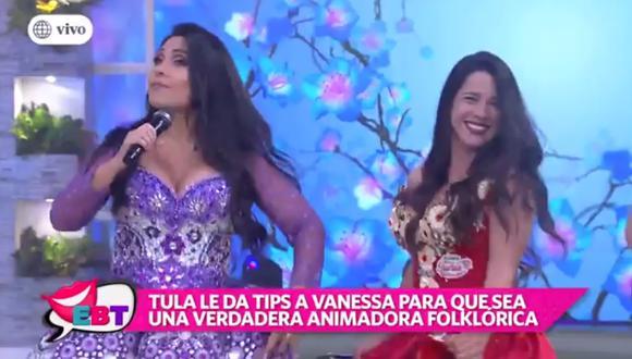 Tula Rodríguez le recomendó unos 'tips' a Vanessa Terkes.