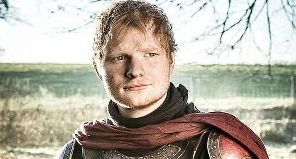 Ed Sheeran cerró su cuenta de Twitter tras su aparición en 'Game of Thrones' (HBO)