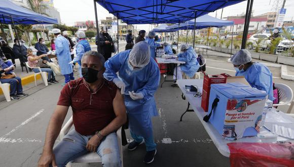 La vacunación avanza en todo el país. (Foto: GEC)