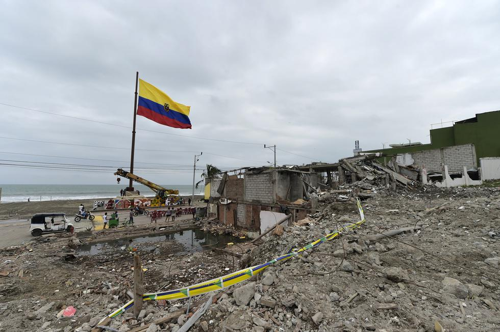 Terremoto en Ecuador: Manabí, la provincia que nuevamente es afectada por un fuerte sismo. (AFP)
