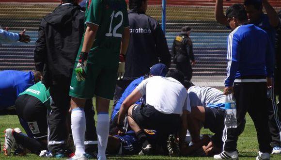 Yair Clavijo falleció cuando faltaban unos minutos para culminación del cotejo ante Garcilaso. (Foto: Trome)