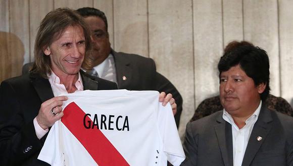El documento está firmado por Ricardo Gareca, Sergio Santín, asistente técnico, y Néstor Bonillo, preparador físico.