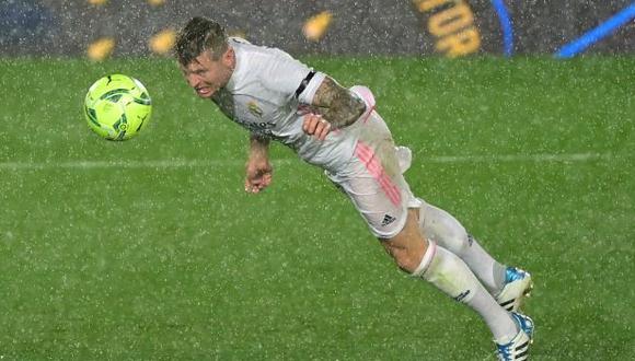 Toni Kroos estuvo en 28 de los 37 partidos de Real Madrid en la presente temporada de LaLiga. (Foto: AFP)