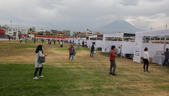 Arequipa: la precipitación pluvial se registró en las jurisdicciones de Cerro Colorado, Alto Selva Alegre, Cercado de Arequipa, Sachaca, entre otros. (Foto: GEC)