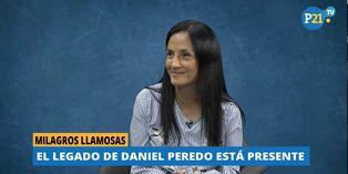 """Esposa de Daniel Peredo: """"La web permitirá conocerlo mucho más"""" [VIDEO]"""