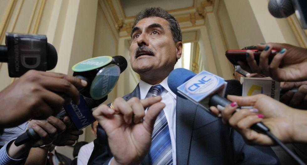 Julio Gagó: Sergio Tejada denuncia blindaje a legislador en Comisión de Ética. (Luis Gonzales)