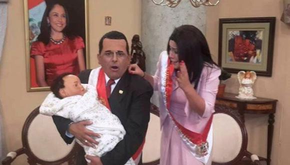 Censuran parodia sobre supuesto hijo de Ollanta Humala (Foto: Carlos Alvartez)