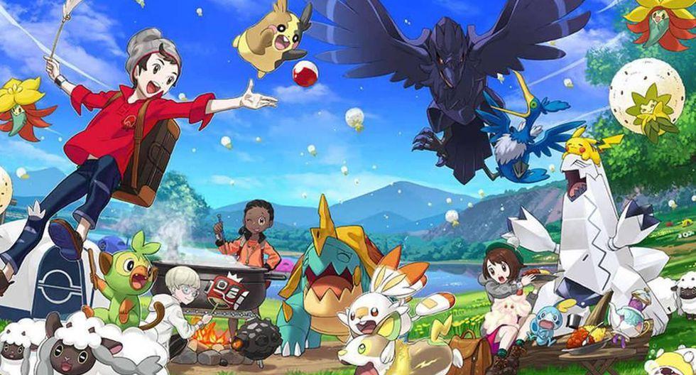 'Pokémon Sword' y 'Shield' ya se encuentran disponibles en nuestro mercado para Nintendo Switch. (Foto: Nintendo)