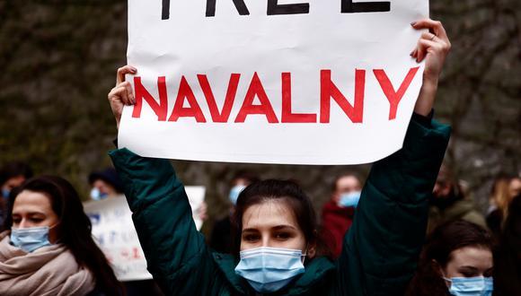 Navalni, de 44 años, se declaró en huelga de hambre el 31 de marzo pasado en protesta por la negativa de los servicios penitenciarios a ser examinado por un médico de confianza. (REUTERS/Christian Hartmann)