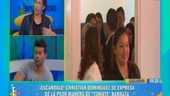 Jazmin Pinedo arremetió contra Christían Dominguez en vivo (Latina)
