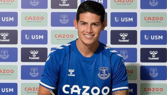 James Rodríguez asume su quinta experiencia internacional. (Foto: @Everton)