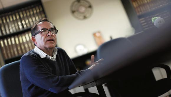 Alberto Quintanilla, vocero del Nuevo Perú. (Mario Zapata/Perú21)