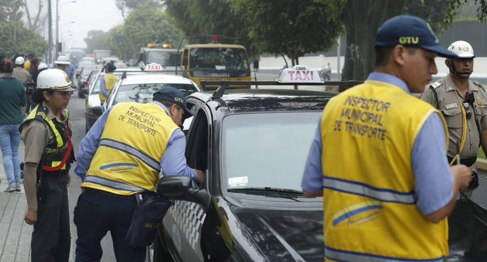 Municipalidad organizó operativo en en el corredor Tacna-Garcilaso-Arequipa. (Atoq Ramón/Perú21)