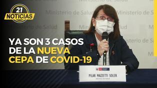 Confirman que ya son 3 los casos de la nueva cepa de COVID-19