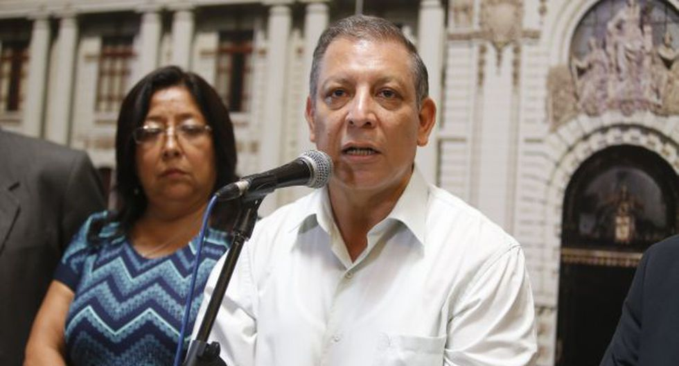 Marco Arana plantea texto sustitutorio sobre la reconstrucción (Mario Zapata)