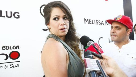 Melissa Klug vive su amor con Diego Chávarri. (USI)