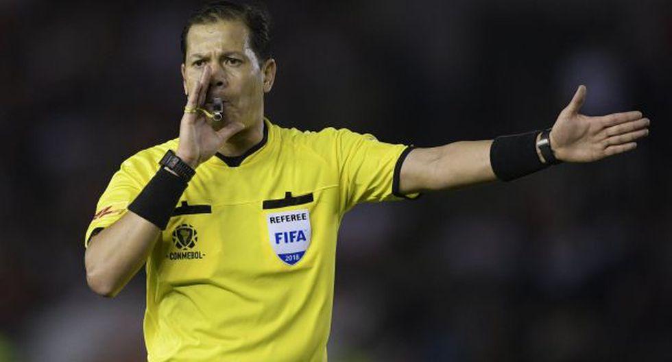 Víctor Hugo Carrillo dirigirá el partido entre Colombia y Paraguay por la Copa América 2019. (Foto: AFP)