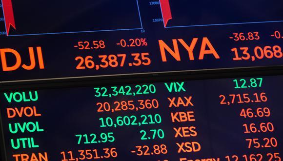 La Bolsa de Nueva York tuvo este viernes una sesión bursátil de pocas operaciones. (Foto: AFP)