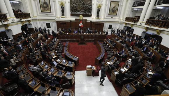 Congresistas de dos bancadas saludaron la inhibición del juez supremo Aldo Figueroa. (Foto: Anthony Niño De Guzmán / GEC)